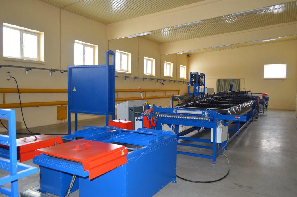 Линия для изготовления сетки композитной стеклопластиковой из арматуры композитной полимерной