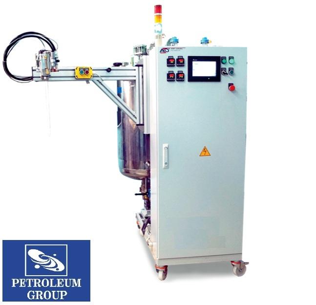 Anlage für die Zubereitung und Dosierung des Polymerbinders